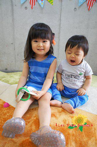 キュートな姉弟コンビ♡もえかちゃん♡やまとくん♡♡♡