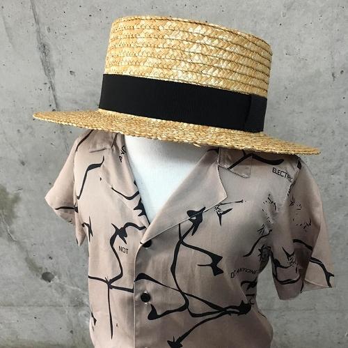夏の装いにプラスワン♪Willys(ウィリーズ)のカンカン帽♪