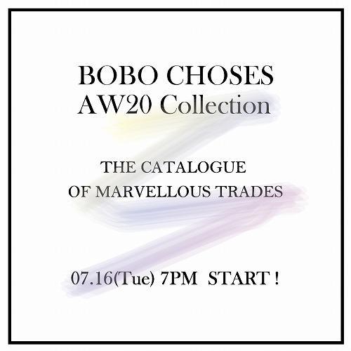 BOBO CHOSES(ボボショセス)2020AW☆★ 7/16(木)19時~予約販売開始します!!