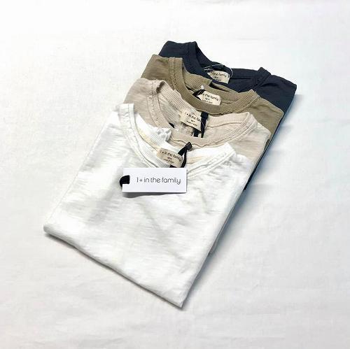 1枚あると使える♪ギフトにもおススメの1+in the family(ワンモアインザファミリー)のTシャツ♡♡